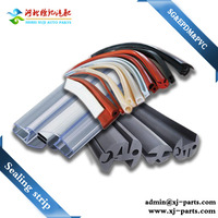 silicone rubber and pvc foam sealing strip for windows and acoustic door seal