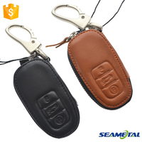 Car Genuine Leather Smart Remote Key Cover Shell Case For Audi A1 A3 A4 A6 A5 A7 A8 Q3 Q5 S5 S6 RS TT Protective Accessories