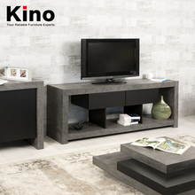 modern living room cement TV table simple snack tables