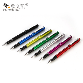 Bulk Buying Smooth Writing Advertising Slogan Printed Free Samples Multicolor Gel Pens
