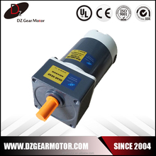 High quality low rpm high torque brushed 40 watt 12v dc motor
