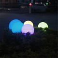 cordless color charging floating mood led ball light