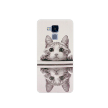 Lovely Cat Back Cover Phone Case For Huawei Honor 7 Lite