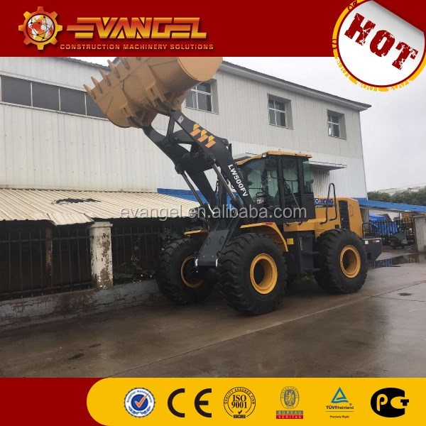 5Ton Hot sales small Wheel Loader LW500FV in Sudan