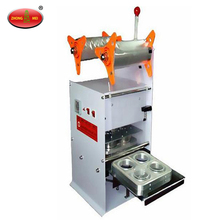 Manual Plastic Yogurt Cup Sealing Machine