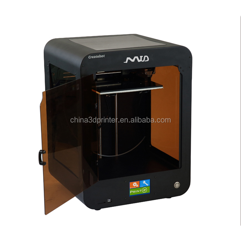Top Selling FDM Mid 3d printer Touch screen control 3d printing machine with createbot software Desktop 3d Printer