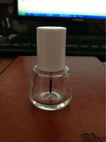 nail polish cap and bottle N239-408 nail polish oil bottle with cap