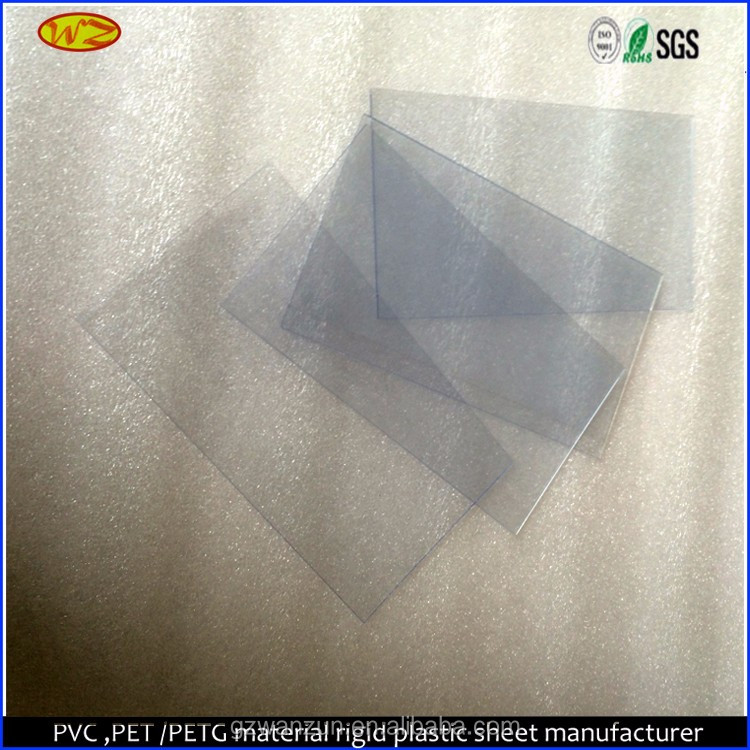 Plastic 1mm Thin colored PVC Sheet for Photo Album