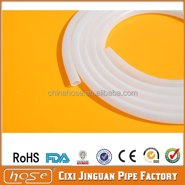 Food Grade 10x16mm High Temperature Silicone Hose, FDA Food Grade Clear Silicone Tubing, Heat Resistant Silicone Steam Hoses