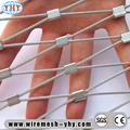 Stainless steel High Strength slope protection rope mesh