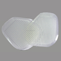 Factory direct sales invisible foot health silicone gel forefoot cushion silicone gel foot pad
