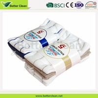 Reasonal factory wholesale microfiber knitted terry cloth fabric towel