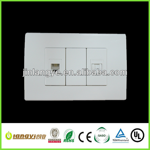 TV+ data rj45 modular socket (LYCL(L))