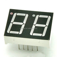"7 Segment LED Numeric And Character Display Module ( 0.5'' 0.56"" Red 2 Digits Characters Common Anode )"
