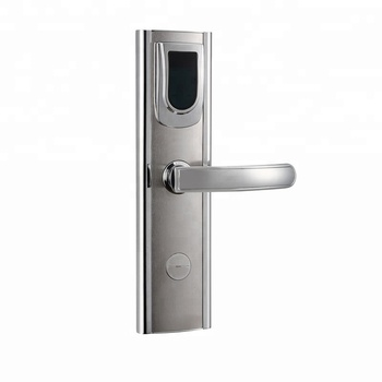 Intelligent hotel lock with Smart Card or Mechanical key