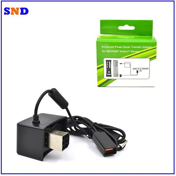 Power supply Enhanced power Saver Transfer Adapter for XBOX360 Kinect