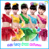2016 Elinfant kids fancy dance dress party stage performance costumes