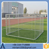 Well-suited large outdoor powder coating galvanized dog kennel/pet house/dog cage/run/carrier