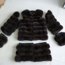 Excellent China factory OEM Service Women Sable Fox Fur Coat with detachable style