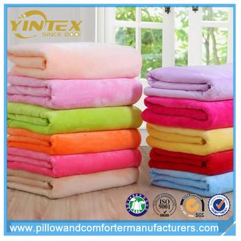 Free sample available factory made super soft polar fleece blanket