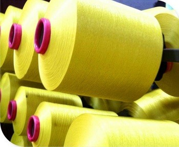 High quality 100% filament polyester not spun yarn overlocking thread dty