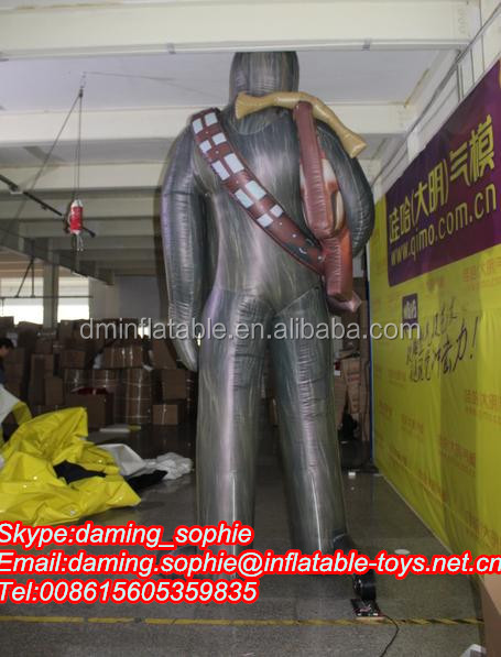 Giant Inflatable Ape Man for Outdoors Promotion
