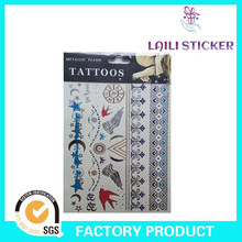 New arrival customized color big tattoo sticker