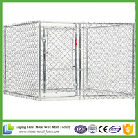 china suppliers hot dip galvanized cheap 6ft dog cage / dog kennel