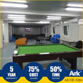 Ark Top Quality Good Price Long Lifespan Flatpack Prefabricated Steel Mining Field snack room