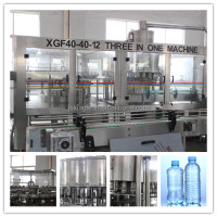 automatic water bottling packing plant and machinery/bottle filling machine small
