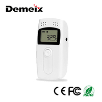 Handheld USB Digital Temperature Humidity Data Logger Meter Thermometer Hygrometer Controller Monitor Alarm datalogger