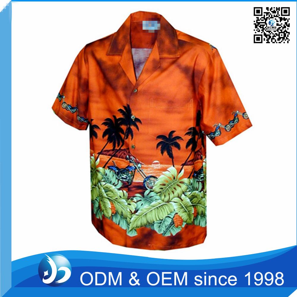 Custom printed men 39 s hawaiian shirts wholesale buy for Custom printed t shirts in bulk