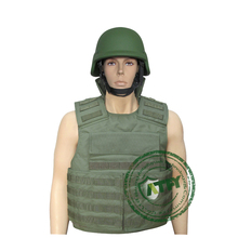 Kevlar or PE Army bulletproof/ ballistic vest with pockets/punchs