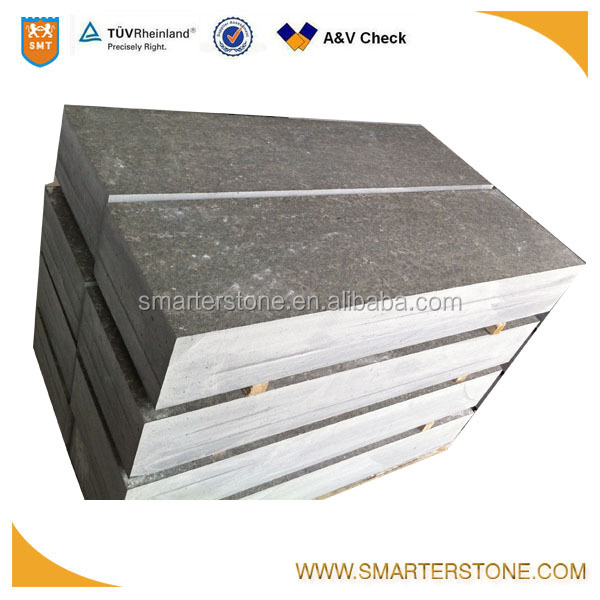 Top flamed basalt brick stone for paving stone