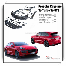 On promotion!!Body kit For POR cayenne to turbo to gts pp body kit full set 2014y ~