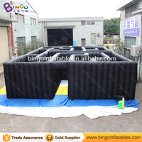 laser tag equipment, large inflatable maze game