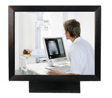 Broadcasting Monitor 15 17 19 inch with Mirror Function