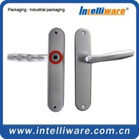 Special security aluminium alloy door handle without screw hole