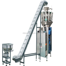 China factory price 10 heads weigher and packing 2 in 1 machine for cheese flavor corn chips with single servo system and CE