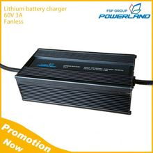 210W 60V 3A Fanless Lithium Battery Charger