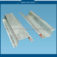 light weight galvanized Ceiling structure steel profile/section steel profile/part metal profile