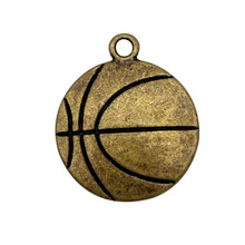 Fashion Ball Charm Soccer Volleyball Baseball Basketball Softball Football Hockey Wrestling Logo Charm Pendant for Shoes Zippers