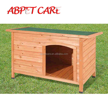 Large Weatherproof Dog Kennel Pine Pet Shelter wooden dog house