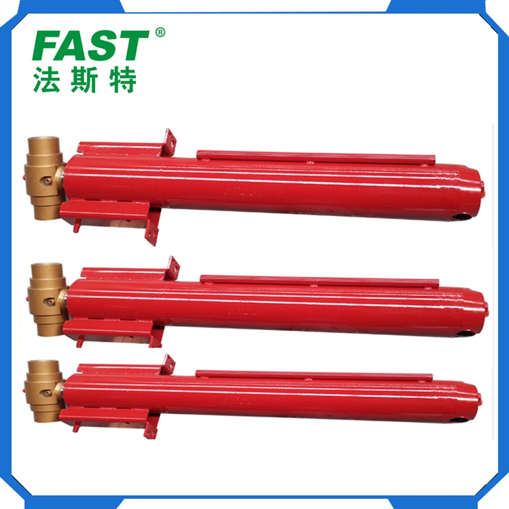 Steel Scissor Car Lift Hydraulic Double Acting Plunger Cylinder