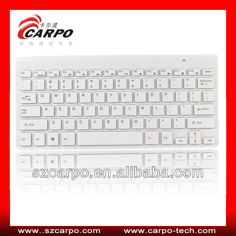 "Metal bluetooth wireless keyboard for new ipad/ipad2/4 with for iphone 5"" original H286"