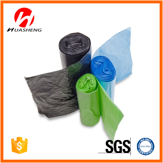 100% Biodegradable T-Shirt Garbage Bags Plastic Bags Manufacturers