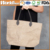 Custom Beach Tote Bag Reusable ladies Shopping Bag/washable kraft paper Women Handbag Wholesale