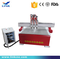 1325 High efficiency wood cnc machine 4 axis cnc machine new design good quality