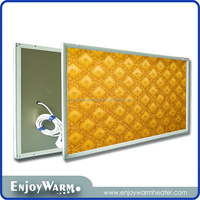 CE Rohs far infrared carbon crystal heater manufacturers panel ray wall heater 360W/600W/720W/960W/1200W