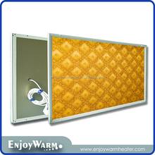 ErP Lot20 CE Rohs far infrared carbon crystal heater manufacturers panel ray wall heater 360W/600W/720W/960W/1200W
